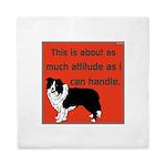 OYOOS Dog Attitude design Queen Duvet