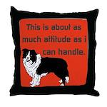 OYOOS Dog Attitude design Throw Pillow