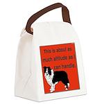 OYOOS Dog Attitude design Canvas Lunch Bag