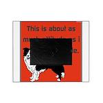 OYOOS Dog Attitude design Picture Frame