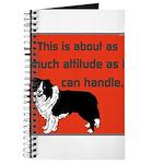 OYOOS Dog Attitude design Journal