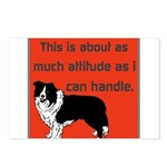OYOOS Dog Attitude design Postcards (Package of 8)
