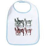 OYOOS Zebra design Bib