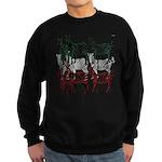 OYOOS Zebra design Sweatshirt (dark)