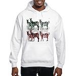 OYOOS Zebra design Hooded Sweatshirt