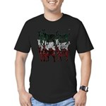 OYOOS Zebra design Men's Fitted T-Shirt (dark)
