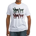 OYOOS Zebra design Fitted T-Shirt