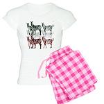 OYOOS Zebra design Women's Light Pajamas