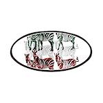 OYOOS Zebra design Patches