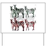 OYOOS Zebra design Yard Sign