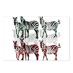 OYOOS Zebra design Postcards (Package of 8)