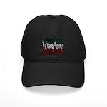 OYOOS Zebra design Black Cap