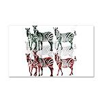 OYOOS Zebra design Car Magnet 20 x 12
