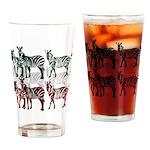 OYOOS Zebra design Drinking Glass