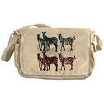 OYOOS Zebra design Messenger Bag