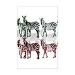 OYOOS Zebra design Mini Poster Print