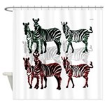 OYOOS Zebra design Shower Curtain