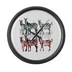 OYOOS Zebra design Large Wall Clock