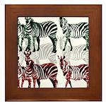 OYOOS Zebra design Framed Tile