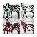OYOOS Zebra design Tile Coaster