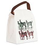 OYOOS Zebra design Canvas Lunch Bag