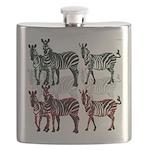 OYOOS Zebra design Flask