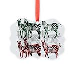 OYOOS Zebra design Picture Ornament