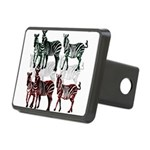 OYOOS Zebra design Rectangular Hitch Cover