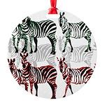 OYOOS Zebra design Round Ornament