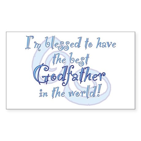 Blessed Godfather BL Sticker (Rectangle)
