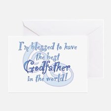 Blessed Godfather BL Greeting Card
