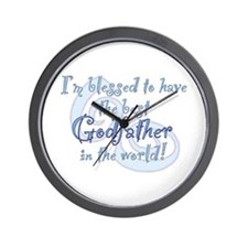 Blessed Godfather BL Wall Clock