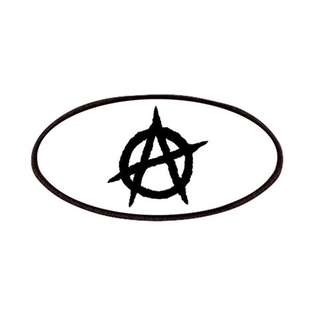 Anarchy (black) Patches