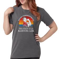 Uterus Vote White Text T-Shirt