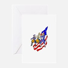 Fife and Drum Greeting Cards (Pk of 10)