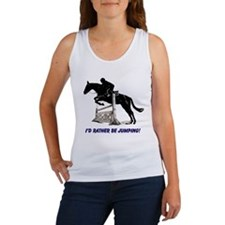 Id Rather Be Jumping Horse Women's Tank Top