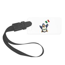 Italy Penguin Luggage Tag