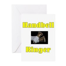 Handbell Ringer Greeting Cards (Pk of 10)
