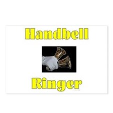 Handbell Ringer Postcards (Package of 8)