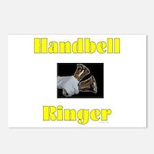 Handbell Ringer Postcards (Package of 8)