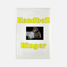 Handbell Ringer Rectangle Magnet