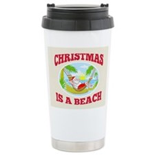 Santa Claus Father Christmas Beach Relaxing Cerami