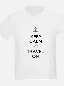 Keep Calm Travel On T-Shirt