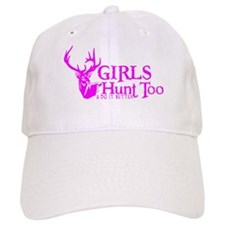 GIRLS HUNT TOO Baseball Cap
