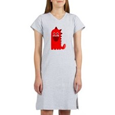 Red Monster Women's Nightshirt