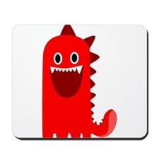 Red Monster Mousepad