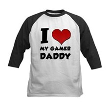 I Love My Gamer Daddy Tee