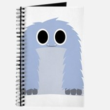 Blue Furry Monster Journal