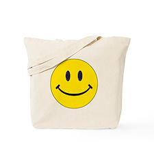 Big Yellow Happy Face Tote Bag