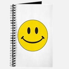 Big Yellow Happy Face Journal